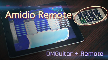 Amidio Remote On OMGuitar