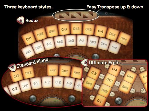 Amido Seline Redux 3 Keyboards